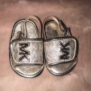 Michael Korda sandals for a 6 month old baby girl